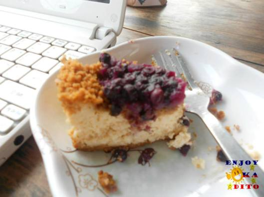 Sagada's Blueberry Cheesecake