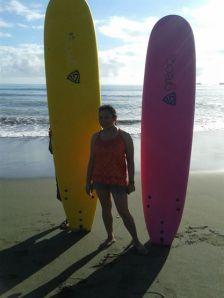 Sabang Beach, Baler March 2014