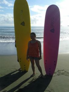 Sabang Beach, Baler March 2014