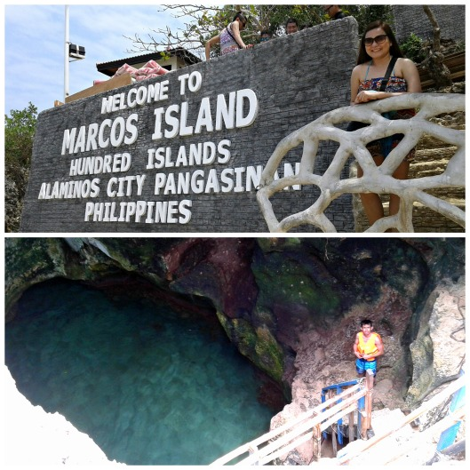 Hundred Islands Alaminos Pangasinan cliff diving Marcos Island https://mycupoftin.files.wordpress.com/2015/04/2.jpg
