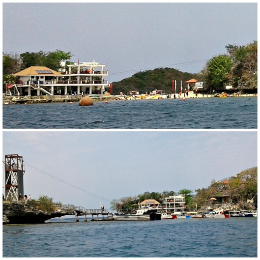 Quezon Islands where most tourists prefer to stay for swimming, zipline and kayak.