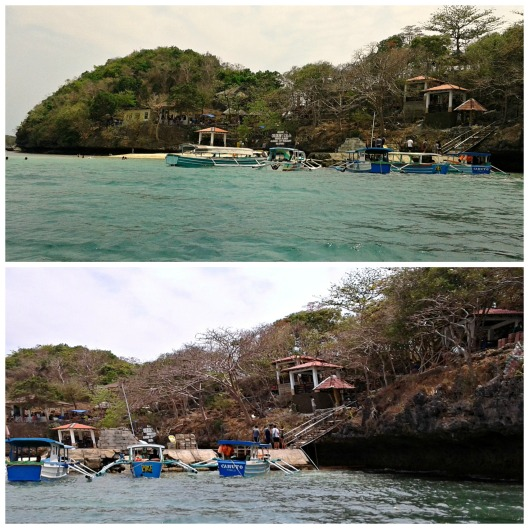 Children's Island, another hot spot in Hundred Islands where tourists prefer to stay for the whole day of fun.