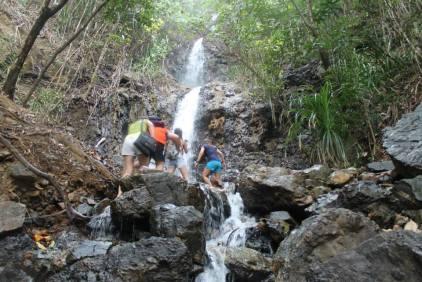 Diguisit Waterfalls, Aurora