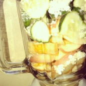 Apple and Cucumber Fruit Shake