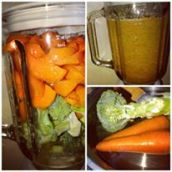 Carrots and Broccoli Shake