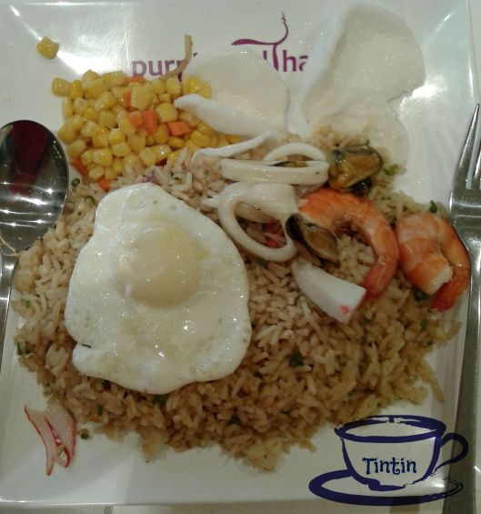 Seafood Fried Rice Purple Pad Thai My Cup of Tin