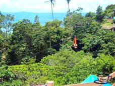 250-meters Zipline at Picnic Grove, Tagaytay