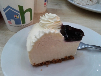 Toll House's Blueberry Cheesecake