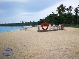 Dahican Beach in Davao Oriental